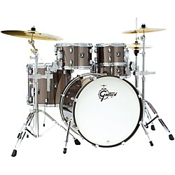 Gretsch Drums Energy 5-Piece Drum Set With Hardware and Sabian Cymbals (GEX-E825VPKGS-Kit)