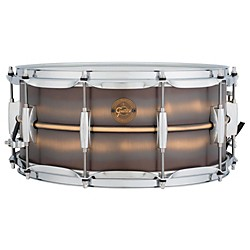 Gretsch Drums Gold Series Brushed Brass Snare Drum (S1-6514-BB)