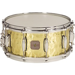 Gretsch Drums Hammered Brass Snare Drum (S-0514-BRH)