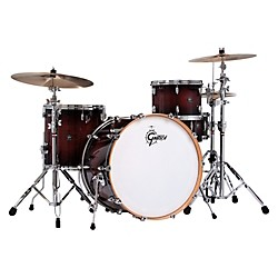 Gretsch Drums Renown Series 3-Piece Shell Pack with 24 inch Bass Drum (RN1-R643-CB)