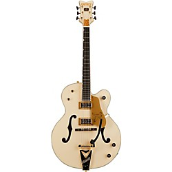 Gretsch Guitars G6136T-LTV White Falcon Lacquer Finish TV Jones Pickups (USED004000 240 1413 805)