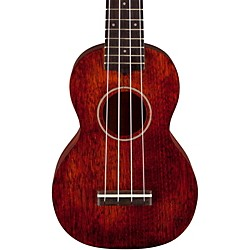 Gretsch Guitars G9100-L Soprano Long-Neck Ukulele with Gig Bag (2730021321)