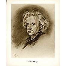 Boston Music Grieg (Lupas Small Portrait Poster) Music Sales America Series