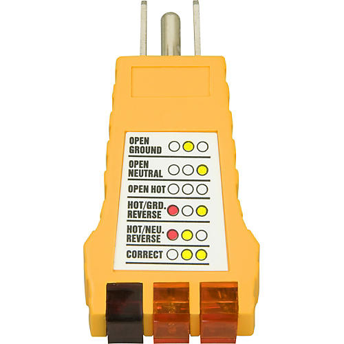 American Recorder Technologies Ground Fault Outlet Receptacle Tester 110V