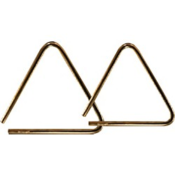 Grover Pro Bronze Pro-Hammered Triangle (TR-BPH-8)