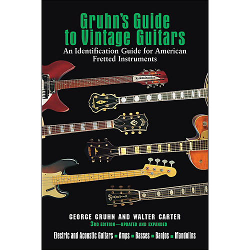 Backbeat Books Gruhn's Guide To Vintage Guitars 3Rd Edition Updated And Expanded-thumbnail