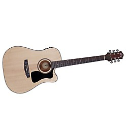 Guild Arcos Series AD-3CE Mahogany Dreadnought Acoustic-Electric Cutaway Guitar (3830106821)