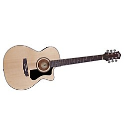 Guild Arcos Series AO-3CE Mahogany Orchestra Acoustic-Electric Cutaway Guitar (3830306821)