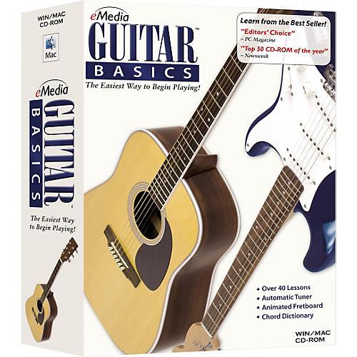 Emedia Guitar Basics v5 Instructional CD Rom-thumbnail