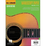 Hal Leonard Guitar Manuscript Paper Deluxe Pad (9 X 12)