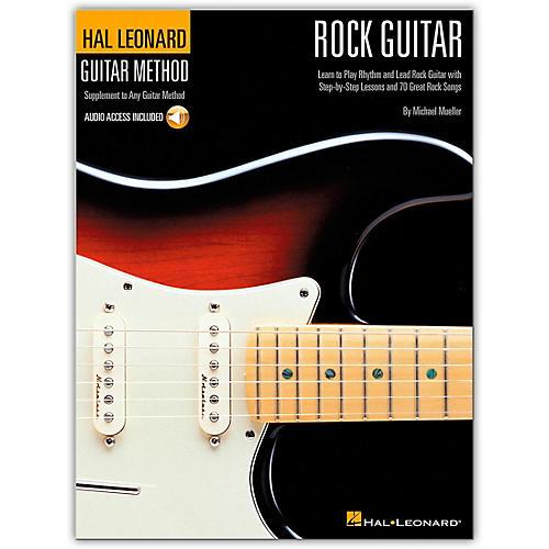 Hal Leonard Guitar Method - Rock Guitar Book/CD