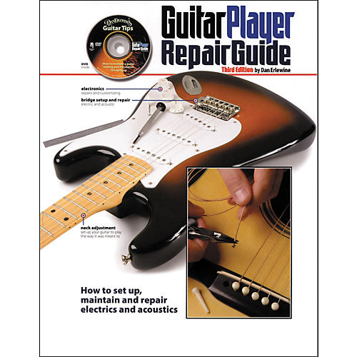 Hal Leonard Guitar Player Repair Guide - 3rd Revised Edition (Book/DVD)-thumbnail