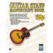 Alfred Guitar Staff Paper Book