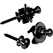 Schaller Guitar Strap Locks and Buttons (Pair)