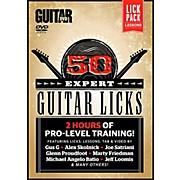 Alfred Guitar World 50 Expert Guitar Licks DVD