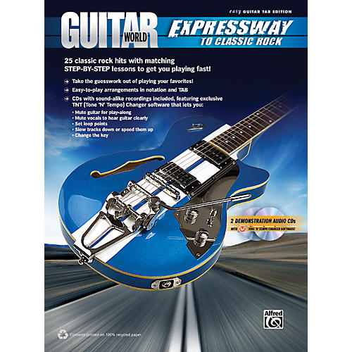 Alfred Guitar World: Expressway to Classic Rock Book & 2 CDs-thumbnail