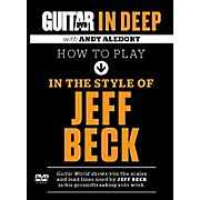 Alfred Guitar World in Deep: How to Play in the Style of Jeff Beck DVD