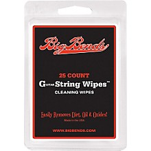 Big Bends Guitar string wipes