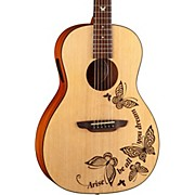 Luna Guitars Gypsy Dream Parlor Acoustic-Electric Guitar
