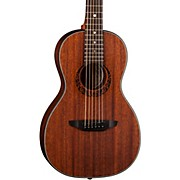 Luna Guitars Gypsy Parlor Mahogany Acoustic Guitar