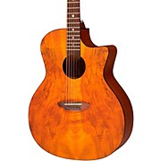 Luna Guitars Gypsy Spalt Grand Concert Acoustic Guitar