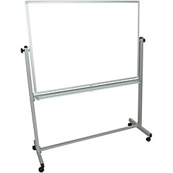 H. Wilson Double-Sided Mobile Whiteboard (MB4836WW)
