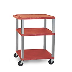 H. Wilson Open Shelf Tuffy Cart (WT34RE-N)