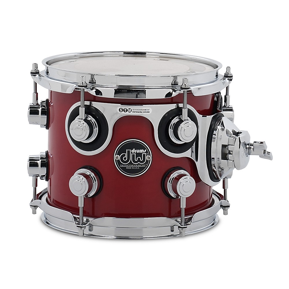 DW Performance Series Tom Candy Apple Lacquer 7x8