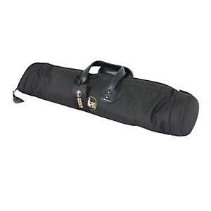 Gard Mid-Suspension Straight Soprano Saxophone Gig Bag 101-MSK Black Synthetic w/ Leather Trim
