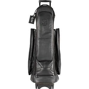 Gard Tenor Trombone Wheelie Bag 22-WBFLK Black Ultra Leather