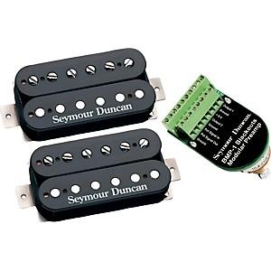 Seymour Duncan Blackouts Modular Coil Pack/Preamp Set Black