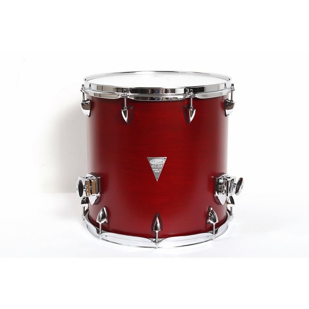 Orange county drum percussion venice cherry wood floor tom for 14x14 floor tom
