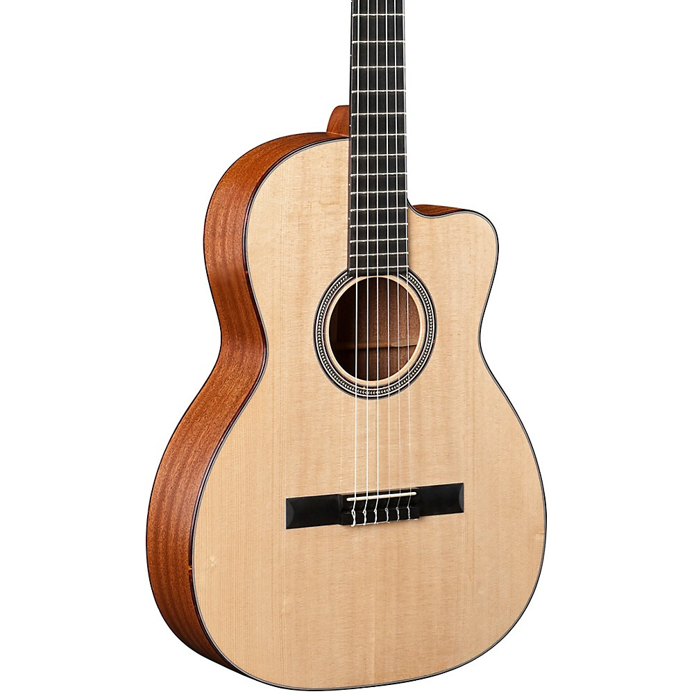 martin special edition 000c nylon string cutaway acoustic electric guitar natura ebay. Black Bedroom Furniture Sets. Home Design Ideas