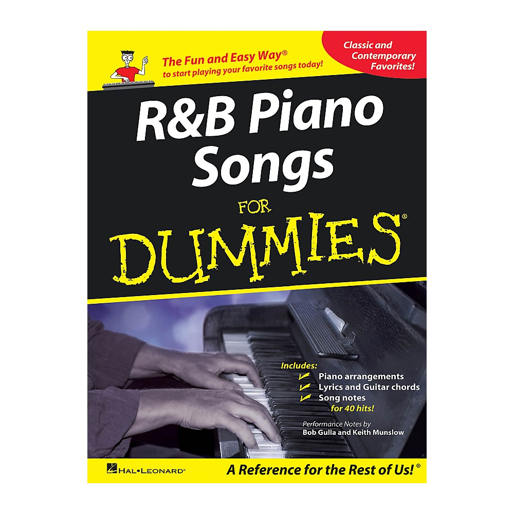 Hal Leonard R & B Piano Songs For Dummies
