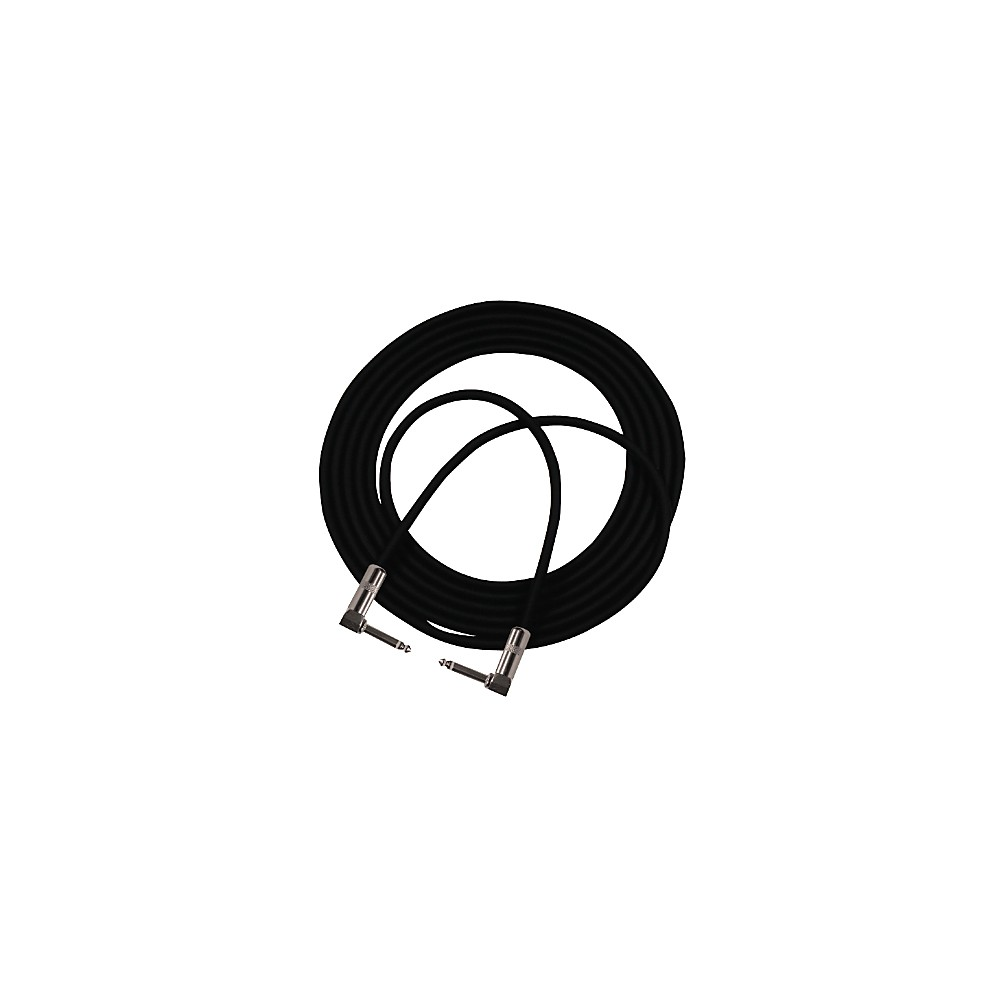 Pro Co StageMASTER Double Angle Instrument Cable 2 Feet