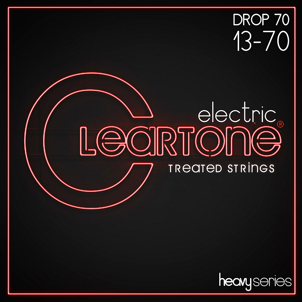 Cleartone Monster Heavy Series Nickel-Plated Drop C Electric Guitar Strings