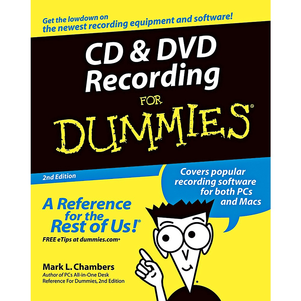 Mel Bay CD & DVD Recording for Dummies