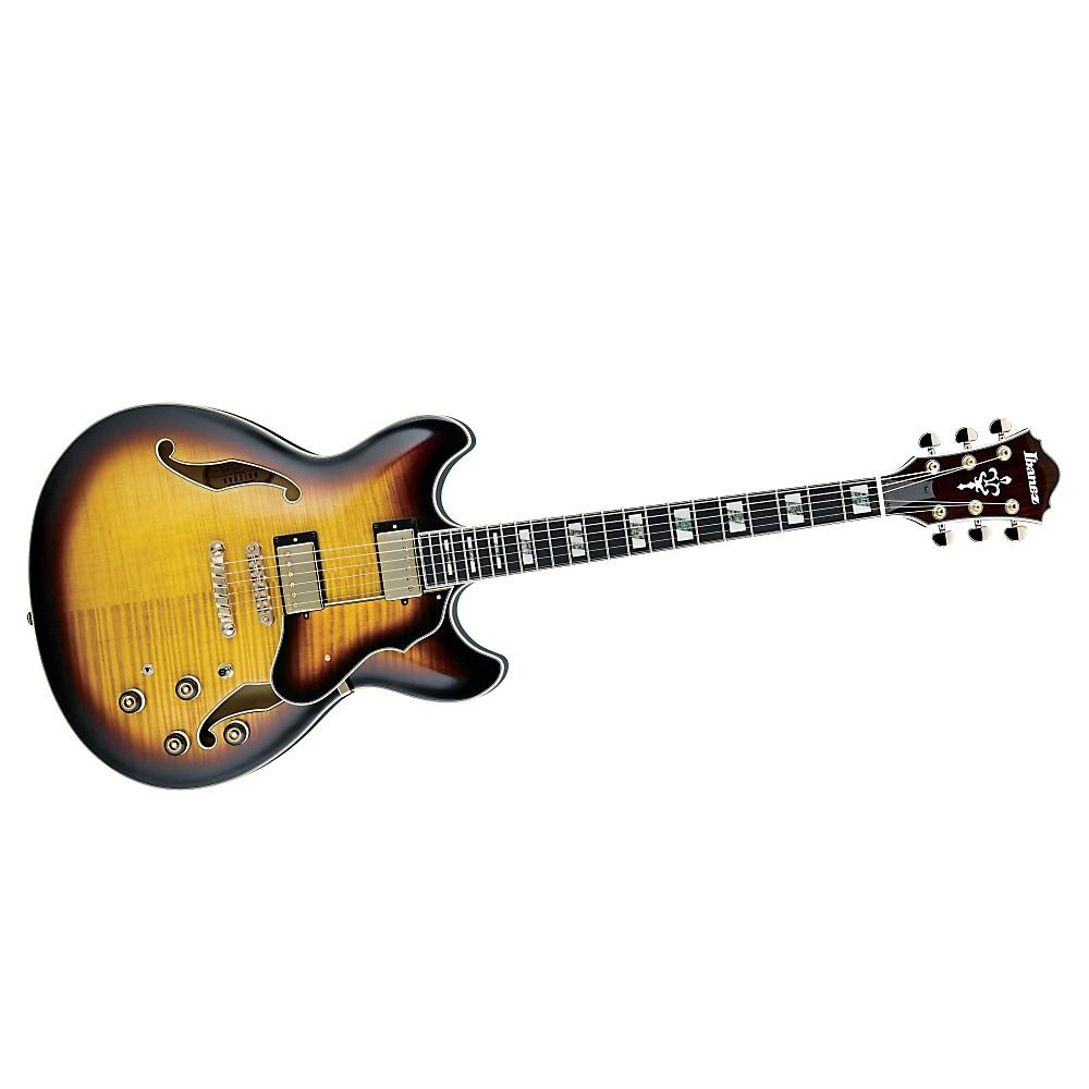 ibanez artstar as153 semi hollow electric guitar antique yellow sunburst 606559783021 ebay. Black Bedroom Furniture Sets. Home Design Ideas