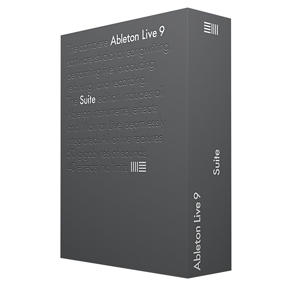 ableton live 9 suite upgrade from live lite ebay. Black Bedroom Furniture Sets. Home Design Ideas