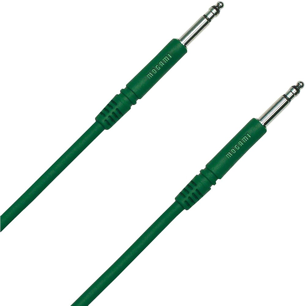 Mogami TT-TT Patch Cable Green 18 IN