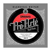 D'Addario HBN-3T Pro-Arte Normal Tension G/B Classical Guitar Strings Half Set