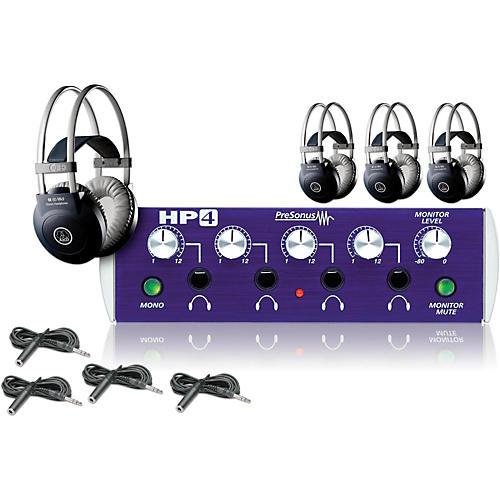 PreSonus HP4 and M80 MKII Headphone Package Plus (4-pack)-thumbnail