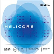 D'Addario HP610 Helicore Pizzicato 3/4 Size Double Bass String Set
