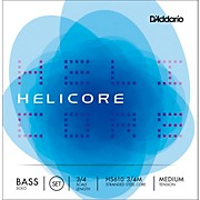 D'Addario HS610 Helicore Solo 3/4 Size Double Bass String Set