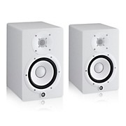Yamaha HS7 White Powered Studio Monitor Pair
