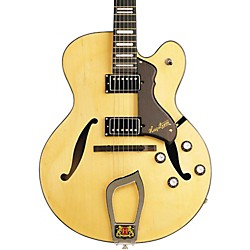 Hagstrom Jazz Model HJ-500 Semi-Hollow Electric Guitar (AMS-HJ500-NAT)