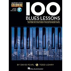 Hal Leonard 100 Blues Lessons - Keyboard Lesson Goldmine Series Series Book/2-CD Pack (122264)