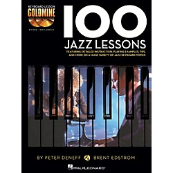 Hal Leonard 100 Jazz Lessons - Keyboard Lesson Goldmine Series Book/2-CD Pack (122261)