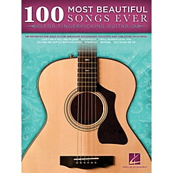 Hal Leonard 100 Most Beautiful Songs Ever For Fingerpicking Guitar (703066)