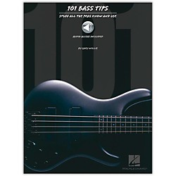 Hal Leonard 101 Bass Tips of the Pros (Book/CD) (695542)